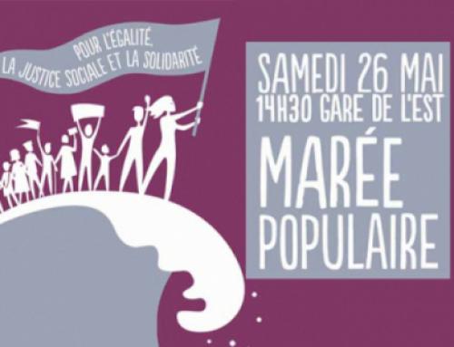 26 mai: Marée Populaire