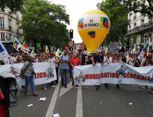 La FSU Ile de France soutient la journée interprofessionnelle du 28 juin et la manifestation organisée par les unions régionales CGT, FO, Solidaires, UNEF.
