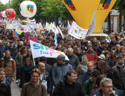 Jeudi 5 décembre : tou·te·s en grève et dans l'action !