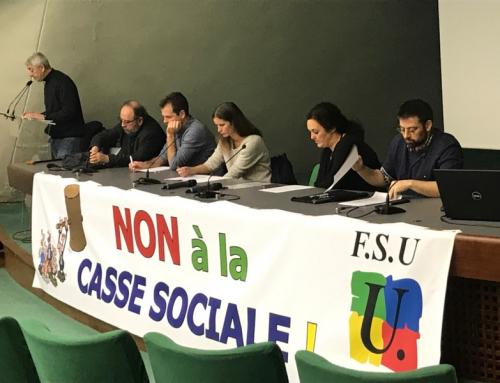 Congrès de la FSU93 le 18 et 19 novembre