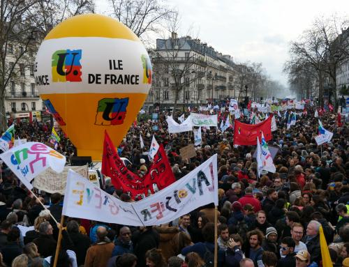Grève le 31 mars contre la réforme des retraites – Tou·te·s ensemble, tou·te·s en même temps !