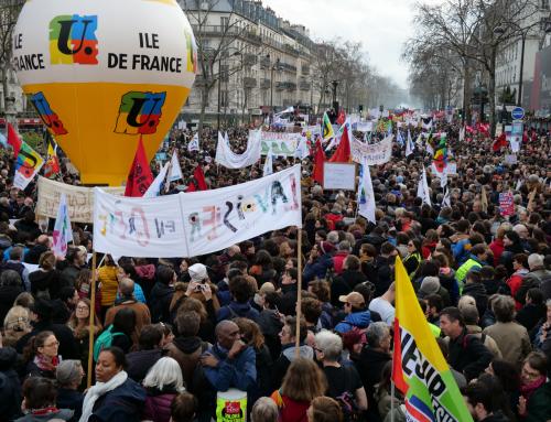 Vendredi 24 janvier: journée massive de grève et de manifestation interprofessionnelle.