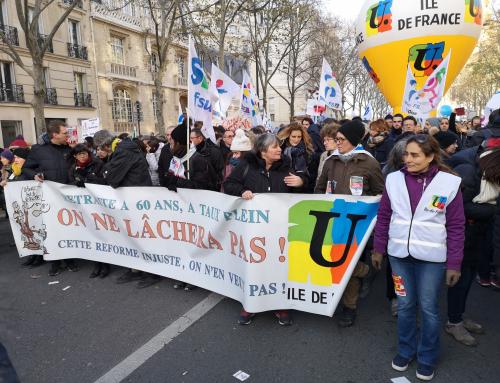 Mardi 14 et jeudi 16 janvier : 2 nouvelles journées de mobilisation contre la réforme des retraites