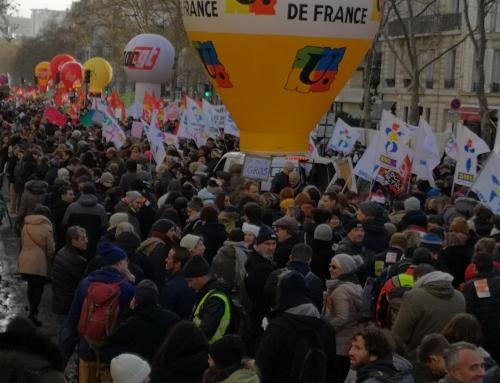 Toujours plus mobilisés : grèves et manifestations!