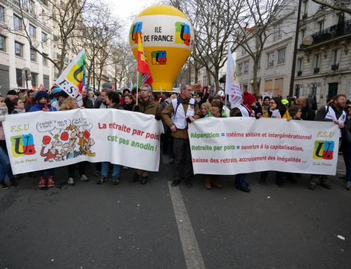 Rassemblement unitaire Fonction publique du 5 février de 13h à 14h devant l'Opéra